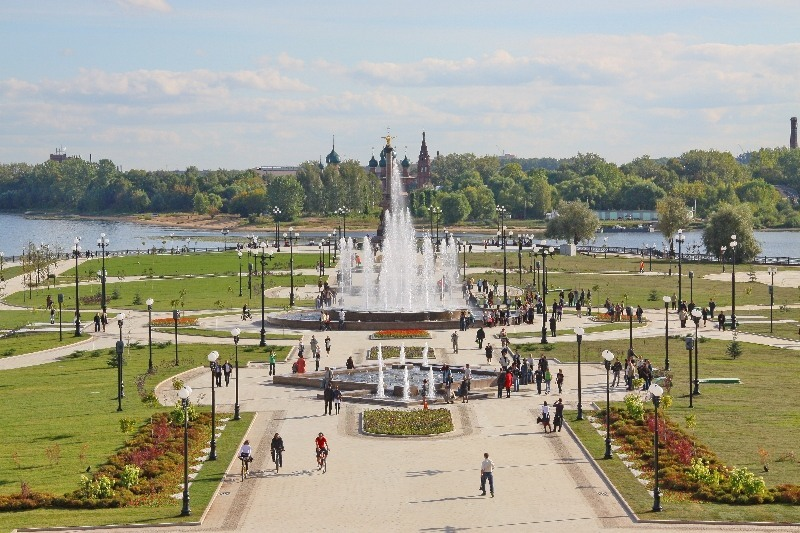 Park_Tysjacheletija_JAroslavlja_3
